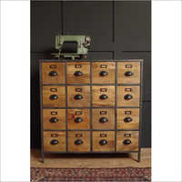 16 Drawer Wooden Chest