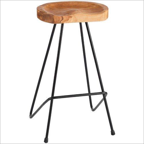 Wooden Top Stool
