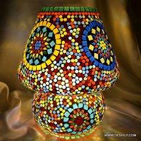 Mosaic Glass Handmade Lamp