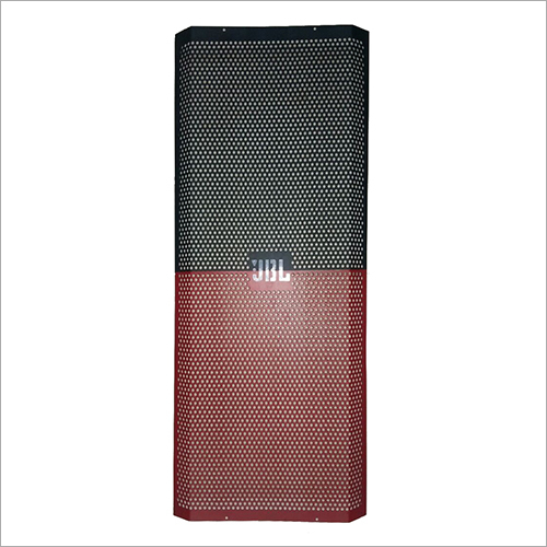 Red Speaker Perforated Mesh