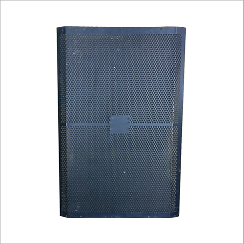 Speaker Blue Perforated Sheet