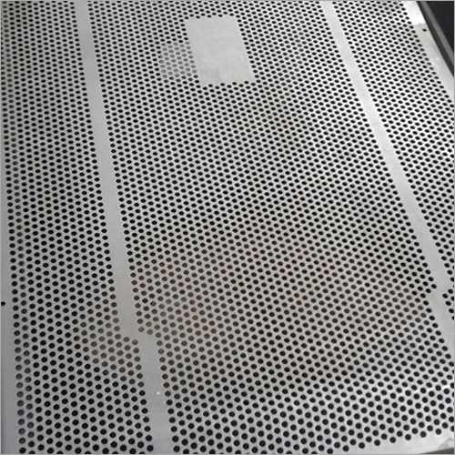 Speaker Round Hole Perforated Sheet