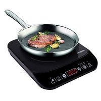 Black 2000 W Induction Cooker