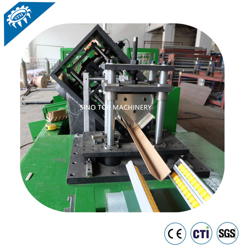 Fast Running Cardboard Edge Protector Machine