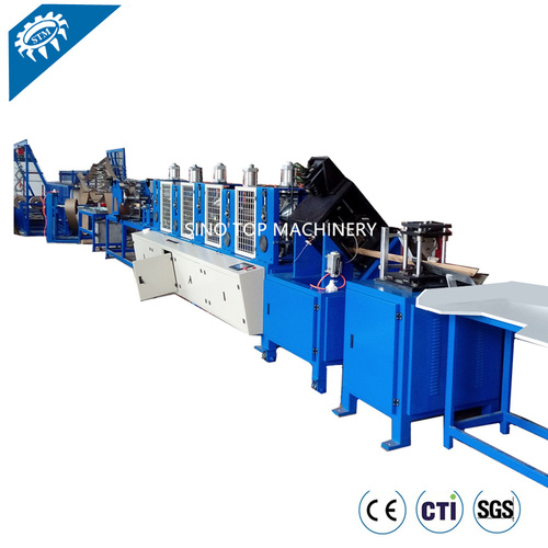 120AS cardboard corner board making machine