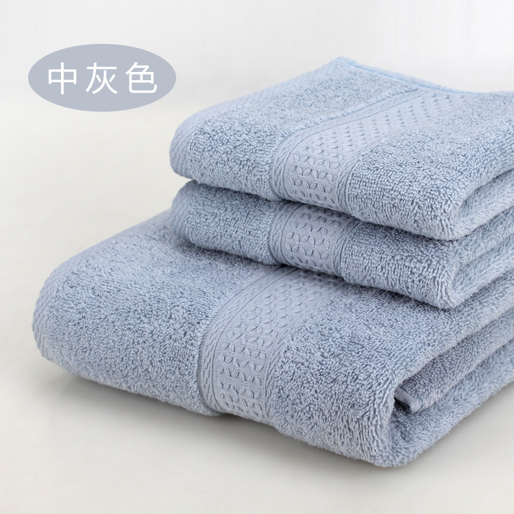 China Suppliers High Quality 100% Cotton Jacquard Bath Towels