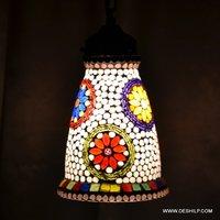 THICK GLASS MOSAIC WALL LAMP