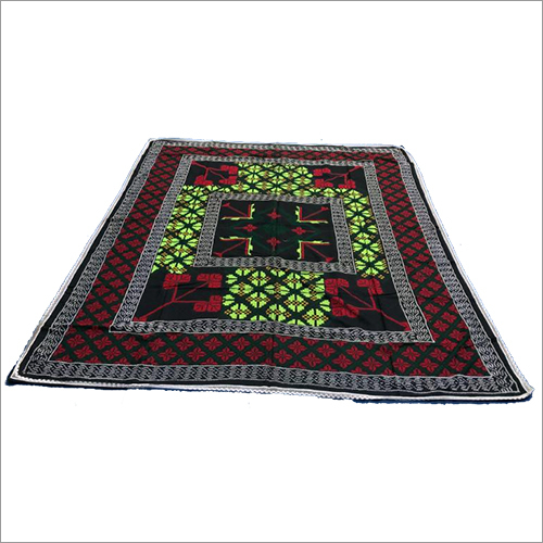 Hand Made Katha Stich King Size Bed Cover