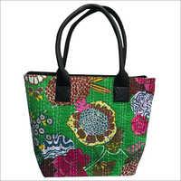 Kantha Stitch Bag