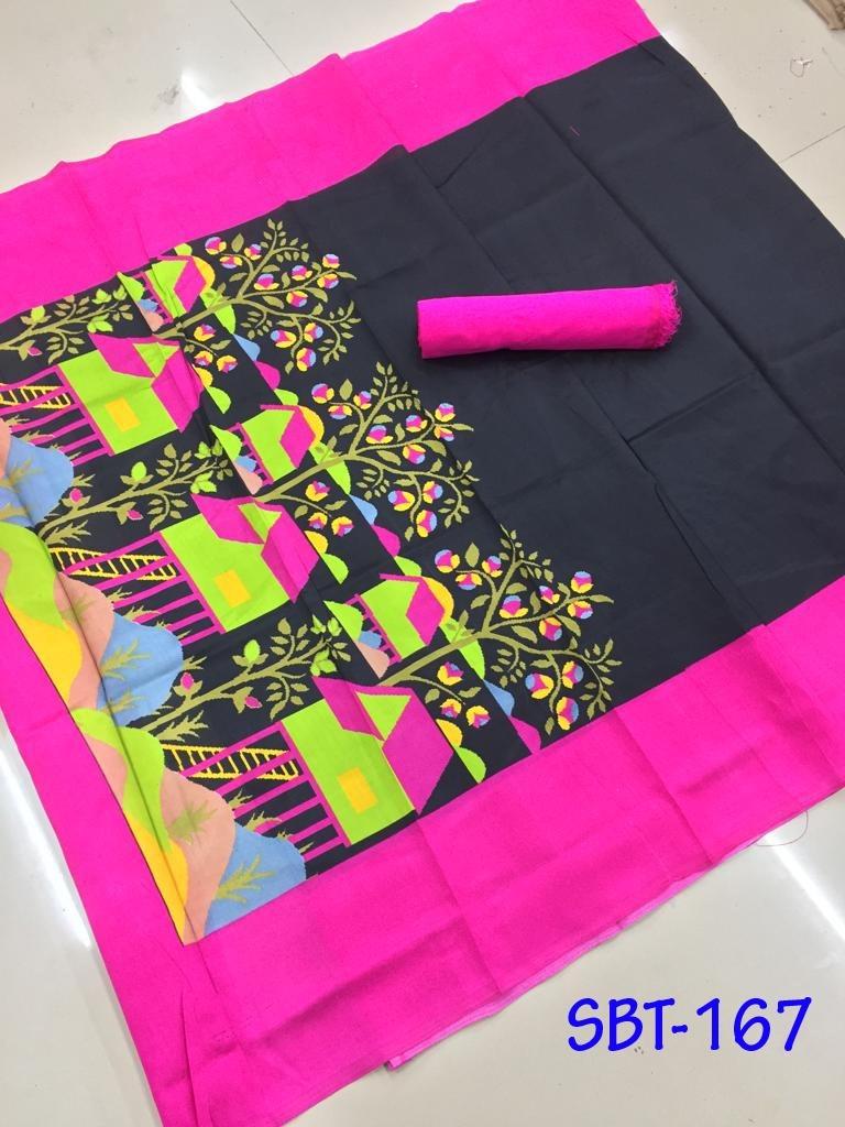 Printed Silk Banglori Saree