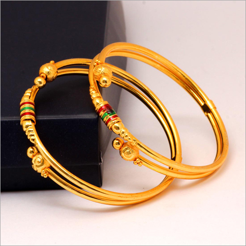Ladies Gold plated  Bangle