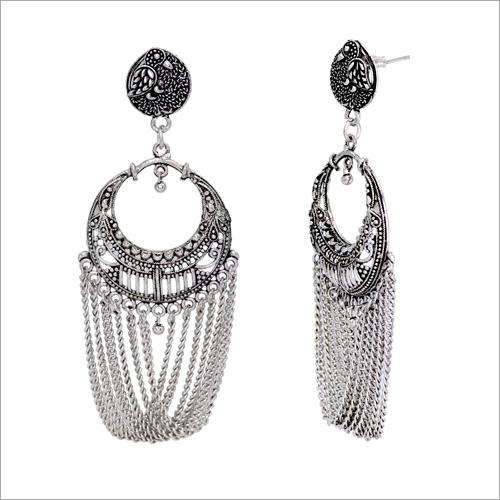 Indian Oxidised Earring