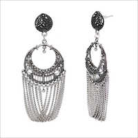 Indian Oxidised Earring
