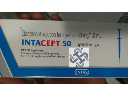 Intacept Etanercept 50mg Injection