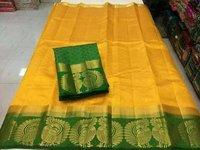 Kanjivaram Printed Saree