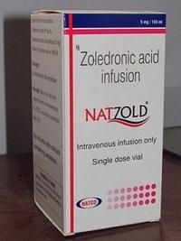 Natzold Zoledronic acid 5mg Infusion