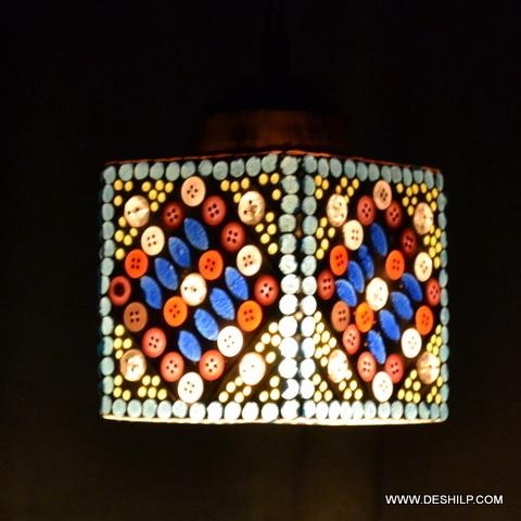 MULTI MOSAIC SMALL WALL LAMP
