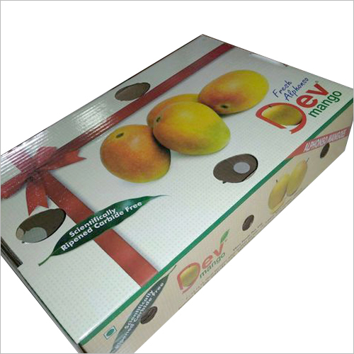Mango Corrugated Box
