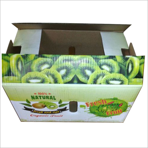 Kiwi Fruit Corrugated Box