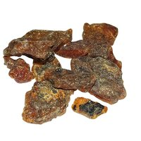 Natural Amber Rough Specimen for Luck and Fortune