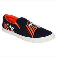 Mens Canvas Slip Shoes