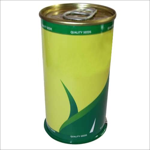 Round Tin Can