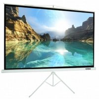 LOGIC 150 inch MW (10×8) screen with Tripod Stand LGS-150T