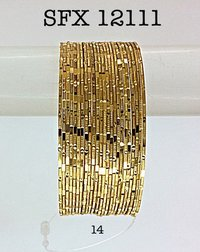 Gold Plated Brass Bangles for Women