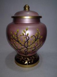Adult Pink  Cremation Urn