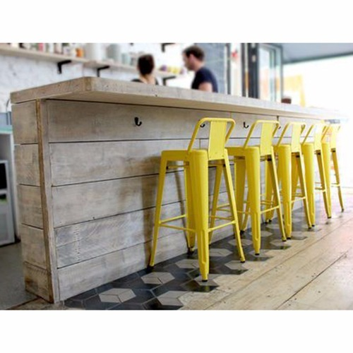 Iron cafe Bar Chair