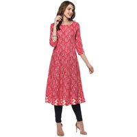 Cotton Anarkali Long Kurtis