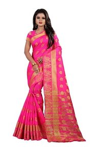 New Cotton Silk Weaving Saree