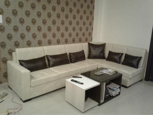 L type Sofa Decoration