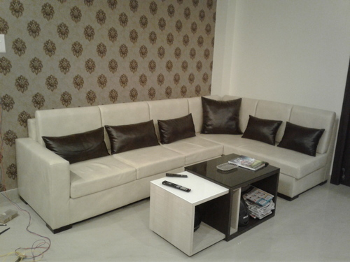 L type Sofa Decoration