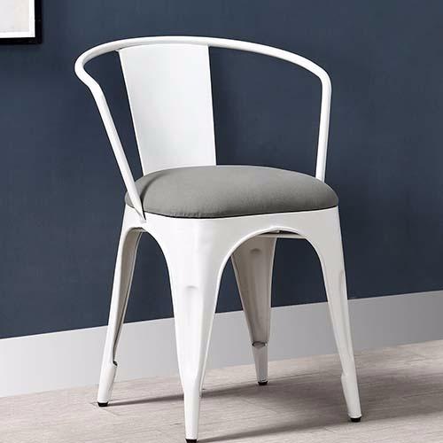 Iron Cushion Chair