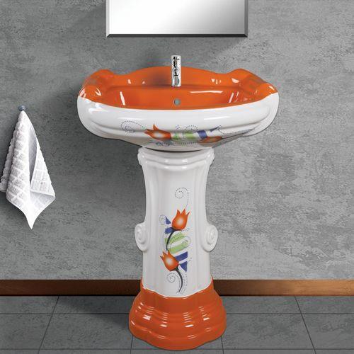 Modern Wash Basin Pedestal