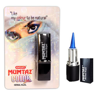 Mumtaz Colorglo Herbal Kajal -  Hawaiian Blue