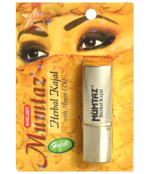 Gold Series  Mumtaz Herbal Kajal  With Almond Oil