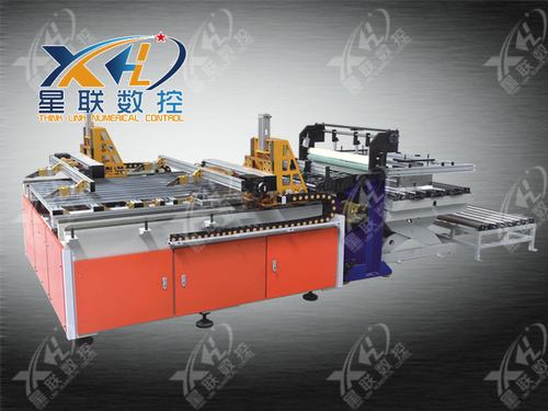 DOUBLE CLAMPS CNC SHEET FEEDING SYSTEM