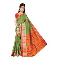 Fancy Pure Cotton Saree