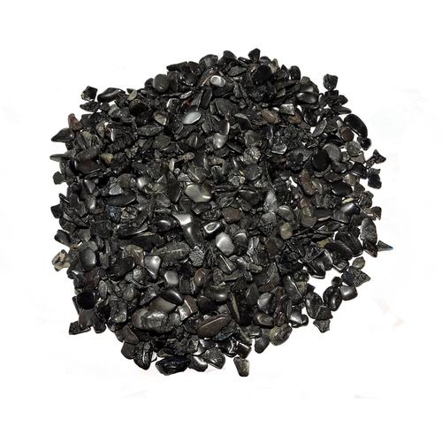 Satyamani Natural Energised Black Obsidian Chips