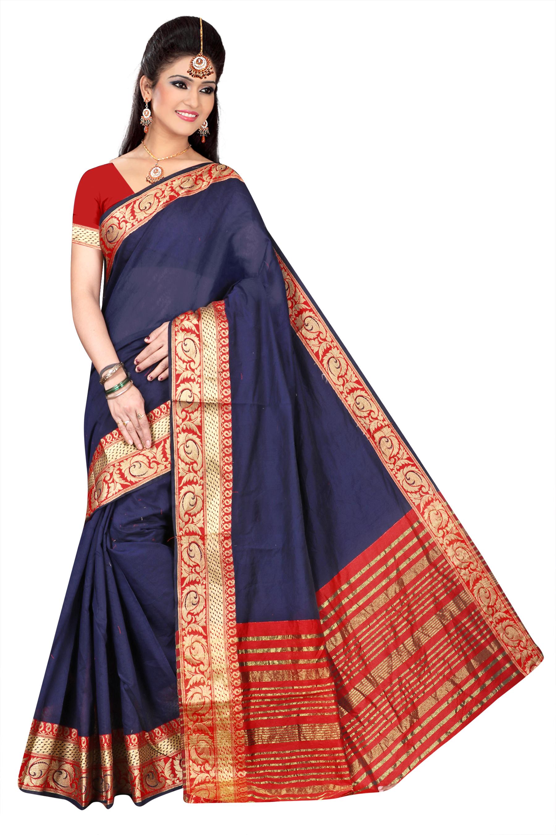 Designer Pure Cotton Saree