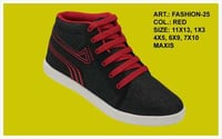 Gents Canvas Shoes with Laces