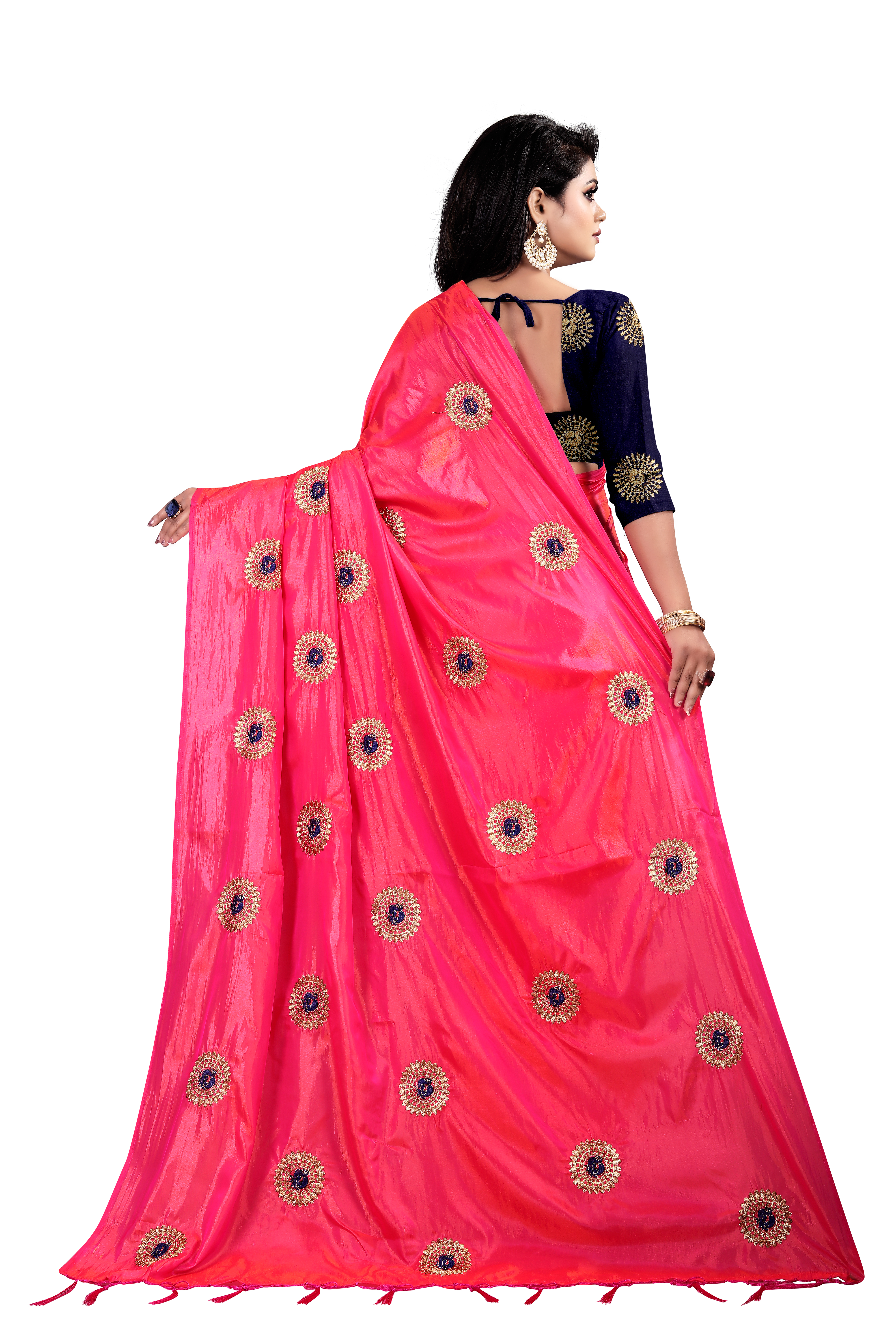 Fancy Paper Silk Saree