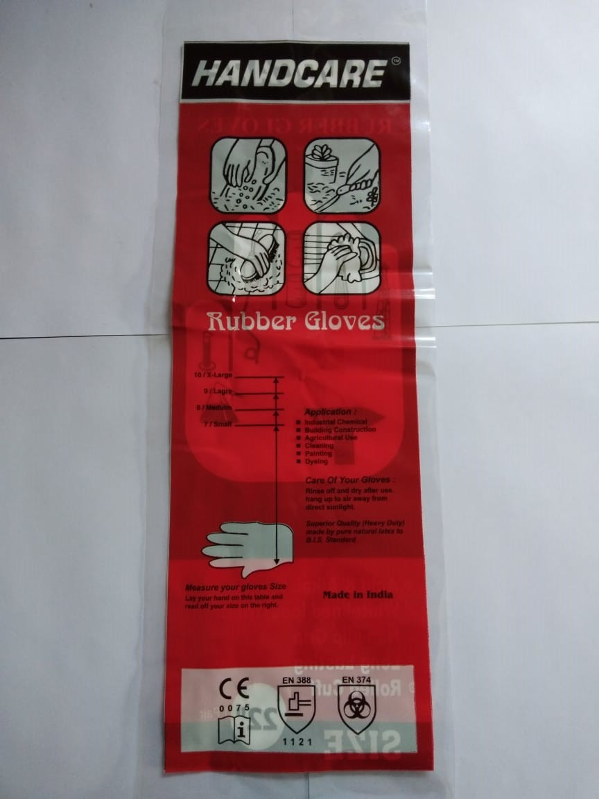 Hand care industrial 10'' gloves