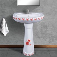 Printed Wash Basin Pedestal