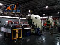 CNC punching machine/deep throat for metal can