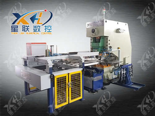 CNC full automatic numerical control punch press production line