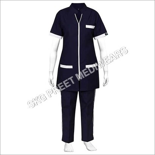 Dark Blue Nursing Black Uniform