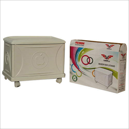White Inverter Single Battery Trolley